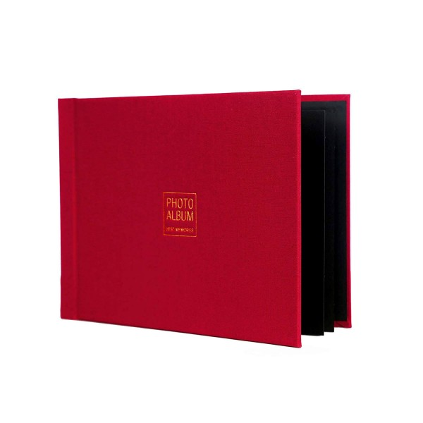 VMS Imperial Thermal Album Cover 4R (10x15 cm)(Maroon, 4 x 6)