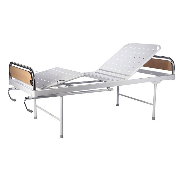 VMS Fowler Bed With Removable Stainless Steel head & foot boards with laminated panels
