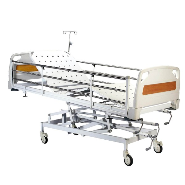 VMS ICU Bed with removable polymer Head & Foot bow