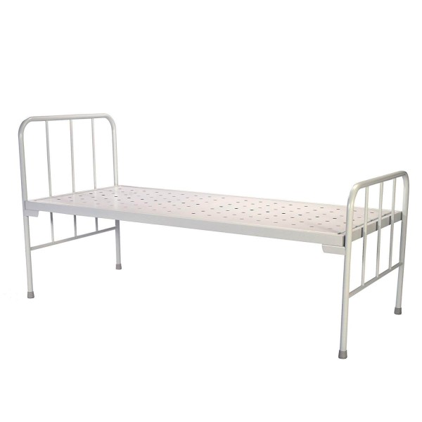 VMS Plain Patient Bed with Un-equal Mild Steel Head and Foot Boards