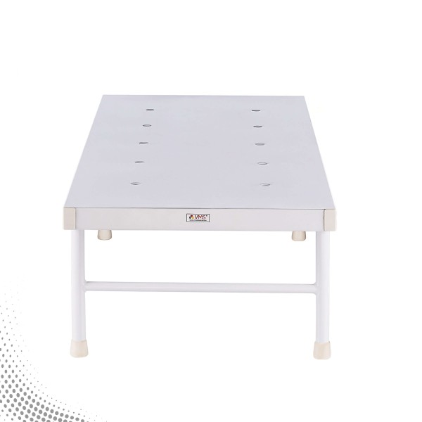 VMS Attendant Bed With ''H'' Type Legs