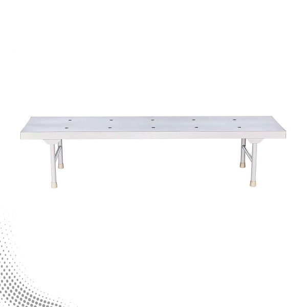 VMS VPB-1007 Attendant Bed With ''H'' Type Legs