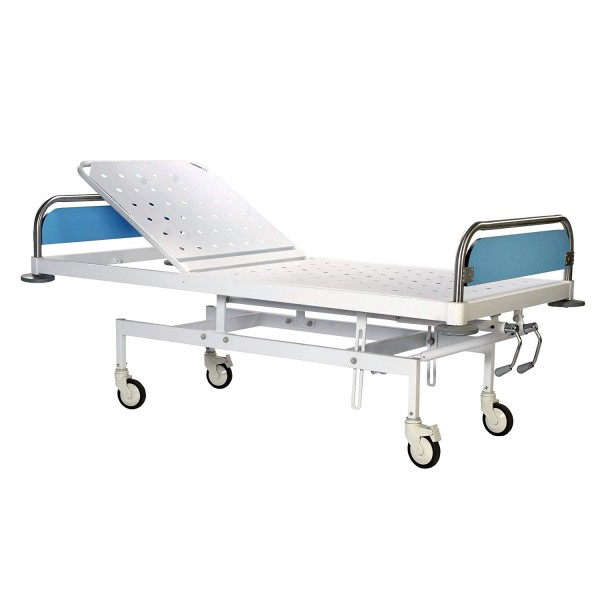 VMS Recovery Bed Two Section Removable SS head & foot boards with laminated panels
