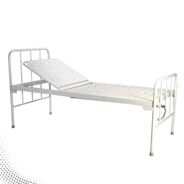 VMS Semi Fowler Bed with Un-equal Mild Steel head & foot boards