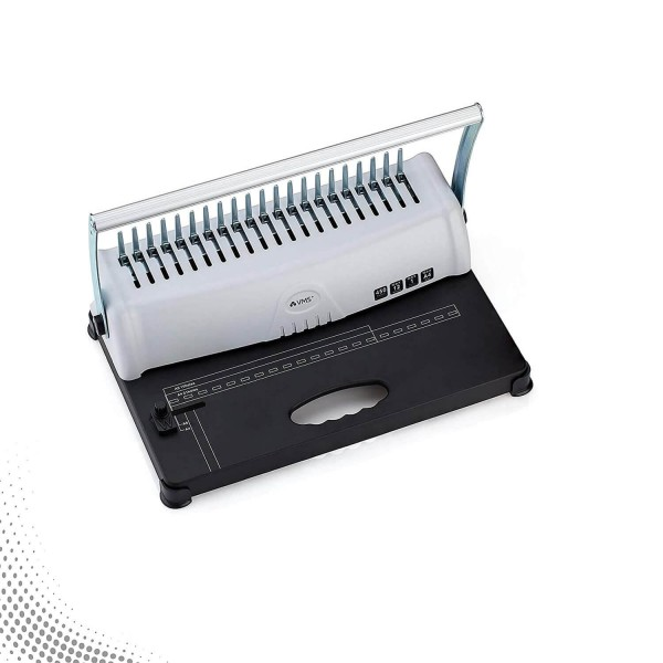 VMS Deluxe Spiral Binding machine with 21 Punching Holes (450 Sheet Bind Capacity)