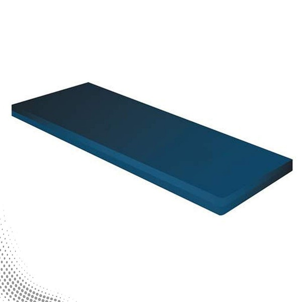VMS PU Foam 4'' Thickness Mattress for Attendent Bed - Single Section