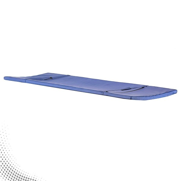 VMS Single Section 2 inch Rexene Covered Mattress Suitable for Stretcher Trolley and Emergency Recovery Trolley