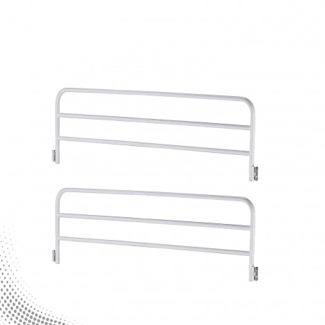 Collapsible Side Railing with MS Tube & MS Brackets