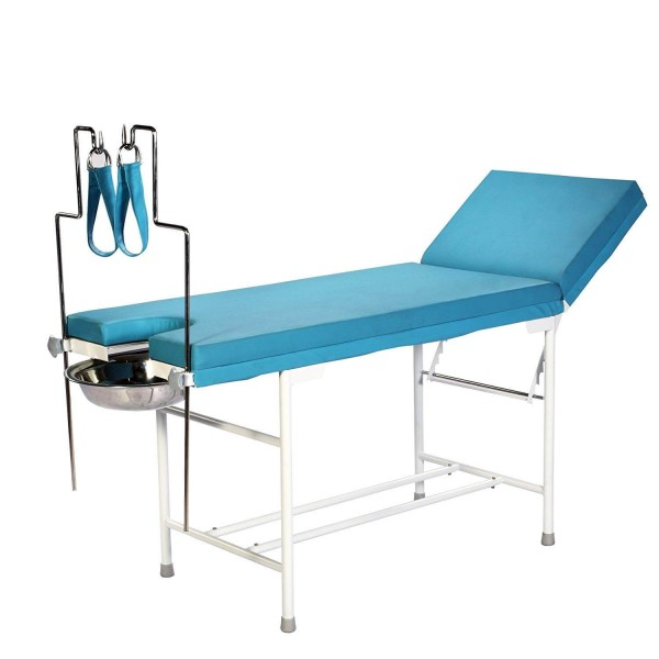 VMS Examination-Cum-Gynaec Table With Lithotomy Rods
