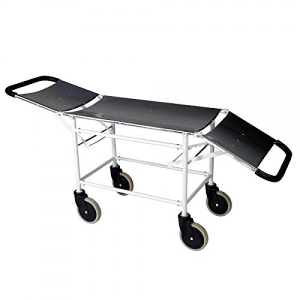 VMS Folding Stretcher Trolley Mild Steel (MS) Framework and Stainless Steel (SS)