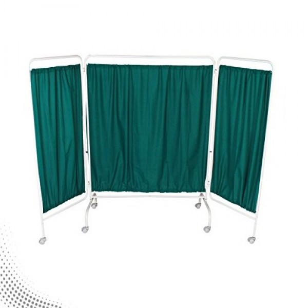 VMS Bedside Screen Three Panels With Curtain Cloth