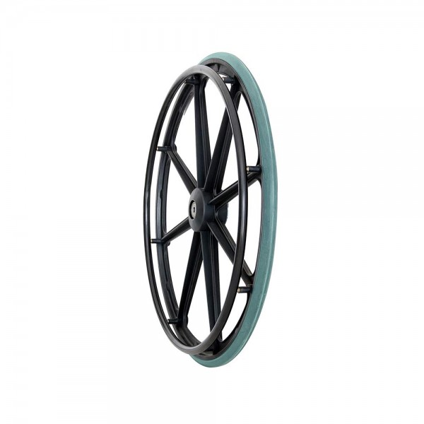 VMS Careline 24 inch Rear Wheelchair Wheels and tires (Set of 1 Pcs.)