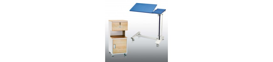 Food Tables and Lockers