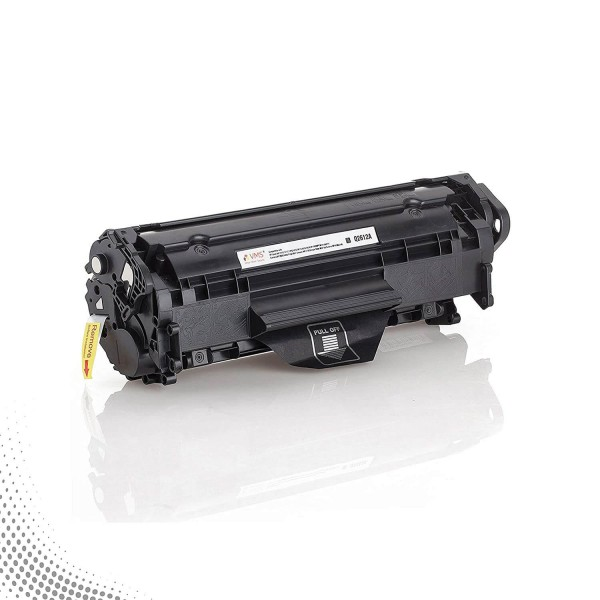 VMS Professional Toner Cartridge 3312 12A/Q2612A (Black) Suitable for HP and Canon Laserjet Printers