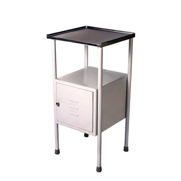 VMS Bedside Locker with Cabinet Stainless Steel Top