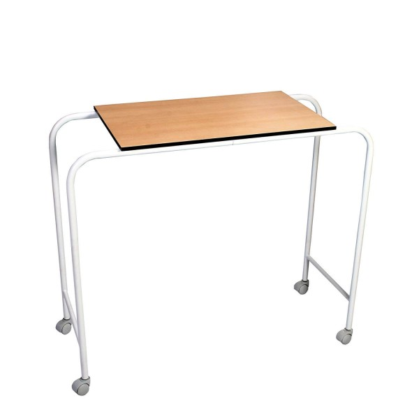 VMS Over Bed Table with Plain Laminated Board Top