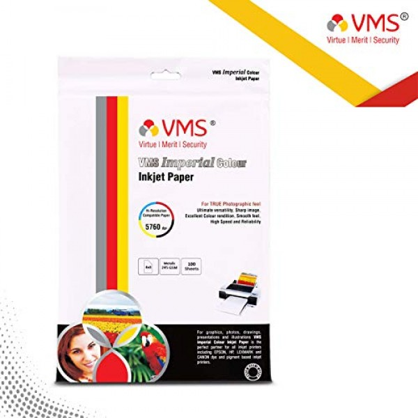 VMS Imperial 245 GSM 4R Metalic Photo Paper