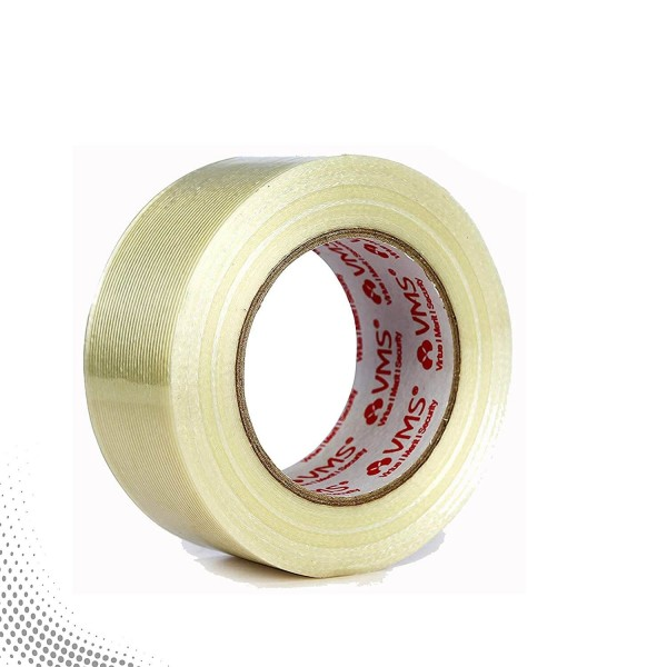 VMS Self Adhesive Strapping Filament Tape 50mm x 45M