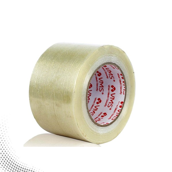 VMS Self Adhesive Strapping Filament Tape 76mm x 45M