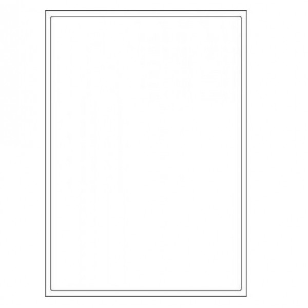 VMS Professional A4 Self Adhesive Paper Labels 100 Sheets (01 per Sheet) (Pack of 2)