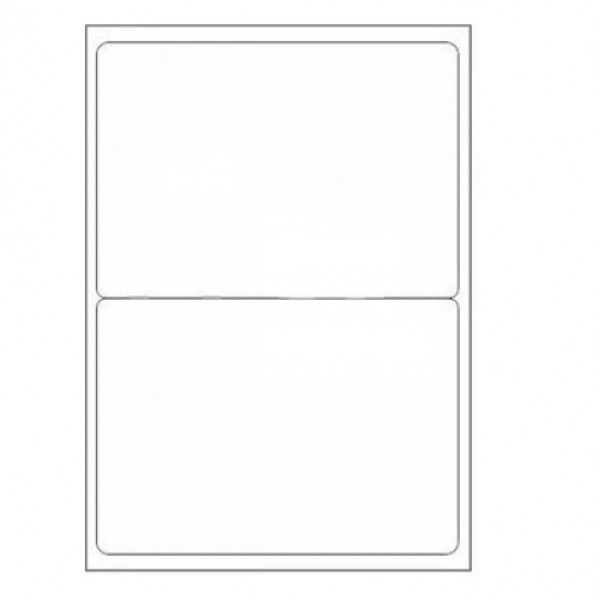 VMS Professional A4 Self Adhesive Paper Labels 100 Sheets (02 per Sheet) (Pack of 2)