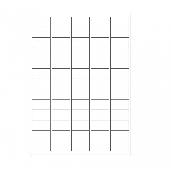 VMS Professional A4 Self Adhesive Paper Labels 100 Sheets (65 per Sheet) (Pack of 2)